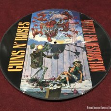 Discos de vinilo: GUNS N' ROSES - APPETITE FOR DESTRUCTION, PICTURE DISC, NO-OFICIAL, 2017, EUROPA, OPORTUNIDAD!!!. Lote 195520961