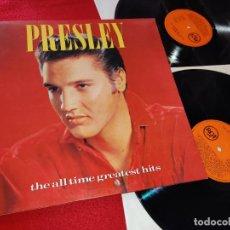 Discos de vinilo: ELVIS PRESLEY THE ALL TIME GREATEST HITS 2LP 1988 RCA GATEFOLD SPAIN ESPAÑA. Lote 195521297