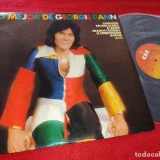 Disques de vinyle: GEORGIE DANN LO MEJOR DE GEORGE DANN LP 1976 CBS SPAIN ESPAÑA. Lote 195521440