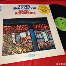 Discos de vinilo: SILVIO RODRIGUEZ TE DOY UNA CANCION LP 1975 MOVIEPLAY SPAIN ESPAÑA. Lote 195521943