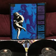 Discos de vinilo: GUNS N' ROSES - USE YOUR ILLUSION II, LP DOBLE, 1991, ESPAÑA. Lote 195522246