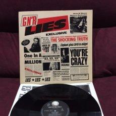 Discos de vinilo: GUNS N' ROSES - G N' R LIES LP, 1988, REINO UNIDO & EUROPA. Lote 195522792