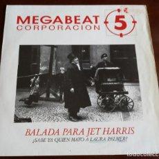 Discos de vinilo: MEGABEAT 5 - BALADA PARA JET HARRIS - MAXI SINGLE.12 . Lote 195522837