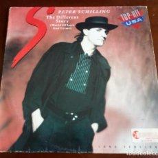 Discos de vinilo: PETER SCHILLING - THE DIFFERENT STORY - MAXI SINGLE.12 . Lote 195523048