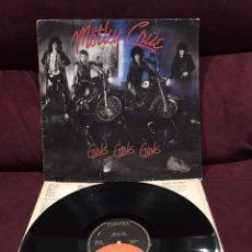 Discos de vinilo: MÖTLEY CRÜE - GIRLS, GIRLS, GIRLS LP, 1987, ESPAÑA. Lote 195523485