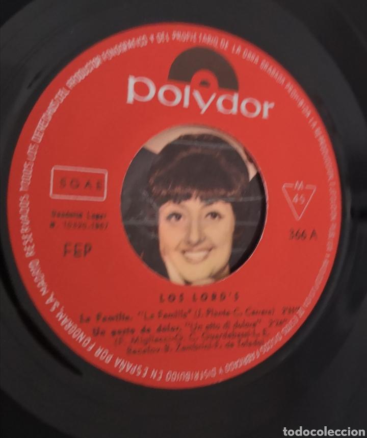 Discos de vinilo: LOS LORDS - LA FAMILIA - RARO DIFICIL - Foto 2 - 195523628
