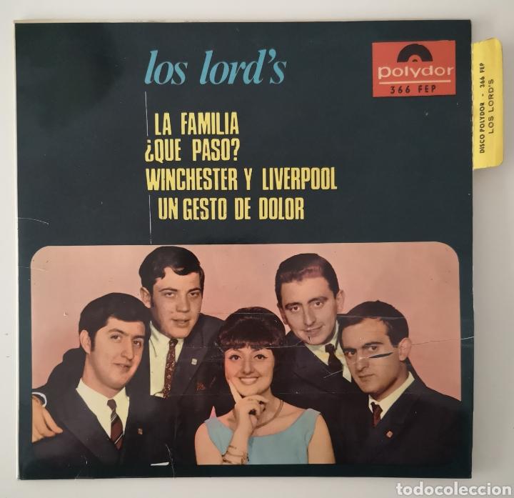 LOS LORD'S - LA FAMILIA - RARO DIFICIL (Música - Discos - Singles Vinilo - Pop - Rock Internacional de los 50 y 60)