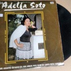 Discos de vinilo: LP ( VINILO) DE ADELFA SOTO AÑOS 80. Lote 195532308