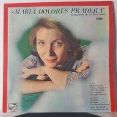 Discos de vinilo: MARIA DOLORES PRADERA Y LOS GEMELOS. 1967. ZAFIRO. ESPAÑA. Lote 195532421