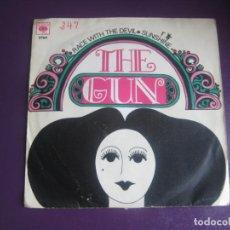 Discos de vinilo: THE GUN SG CBS 1969 - RACE WITH THE DEVIL / SUNSHINE - PSICODELIA HARD ROCK 60'S 70'S - . Lote 195533927