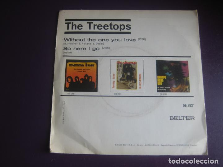 Discos de vinilo: The Treetops Sg BELTER 1972 - Without The One You Love / So Here I Go - FUNK ROCK SOUL 70S - Foto 2 - 195534191