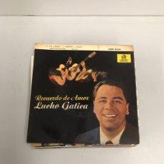 Discos de vinilo: LUCHO GÁTICA. Lote 195536697