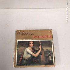 Discos de vinilo: SABOR A PASODOBLES. Lote 195537750