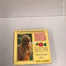 Discos de vinilo: MANUEL CUBEDO. Lote 195537841