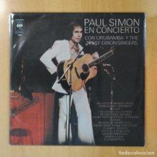 Discos de vinilo: PAUL SIMON CON URUBAMBA Y THE JESSY DIXON SINGERS - EN CONCIERTO - LP. Lote 195538100