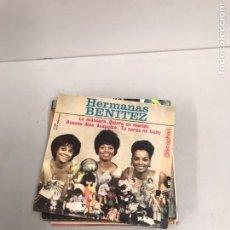 Discos de vinilo: HERMANAS BENÍTEZ. Lote 195538370