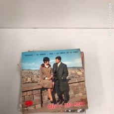Discos de vinilo: GELU Y TITO MORA. Lote 195538890