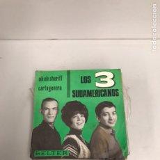Discos de vinilo: LOS TRES SUDAMERICANOS. Lote 195539068