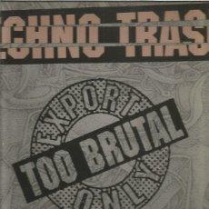 Discos de vinilo: TECHNO TRASH. Lote 195540793