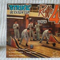 Discos de vinilo: RUFFO Y SUS 4 - ''STRIKE'' DE EXITOS'' - SAPORE DI SALE + 3 - RARO EP ESPAÑOL DEL AÑO 1964. Lote 195542270