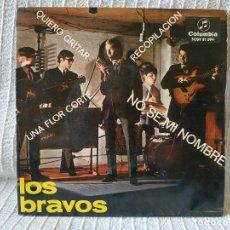 Discos de vinilo: LOS BRAVOS - NO SE MI NOMBRE + 3 - RARO EP DEL AÑO 1966 SELLO COLUMBIA. Lote 195544756