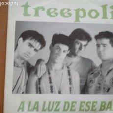 Discos de vinilo: TREEPOLI / A LA LUZ DE ESE BAR // EDITADO POR ASPA // NUEVO. Lote 195546645