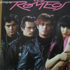 Discos de vinilo: LOS ROMEOS ARAÑAS MI PIEL SINGLE. Lote 195546715