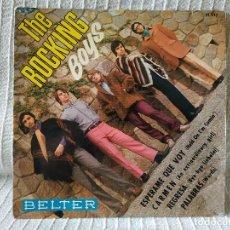 Discos de vinilo: THE ROCKING BOYS - ESPERAME QUE VOY + CARMEN + REGRESA + PALABRAS - MUY RARO EP DEL AÑO 1968. Lote 195547822