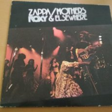 Discos de vinilo: FRANK ZAPPA / MOTHERS ROXY & ELSEWHERE 2XLPS GATEFOLD 1972. Lote 195548357