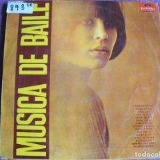 Disques de vinyle: LP - MUSICA DE BAILE - VARIOS (SPAIN, POLYDOR 1966). Lote 195572627