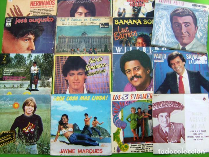 LOTE DE 15 SINGLES LATINOAMERICANOS (Música - Discos - Singles Vinilo - Grupos y Solistas de latinoamérica)