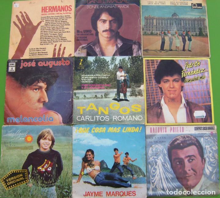 Discos de vinilo: Lote de 15 singles latinoamericanos - Foto 2 - 195573610