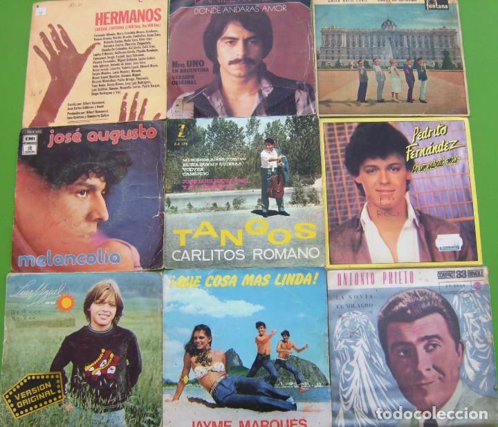 Discos de vinilo: Lote de 15 singles latinoamericanos - Foto 3 - 195573610