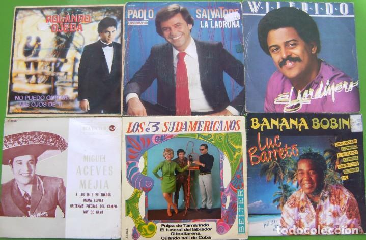Discos de vinilo: Lote de 15 singles latinoamericanos - Foto 4 - 195573610