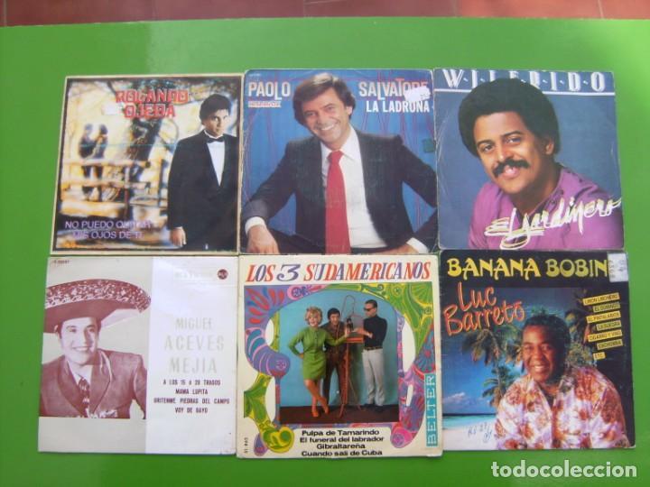 Discos de vinilo: Lote de 15 singles latinoamericanos - Foto 5 - 195573610