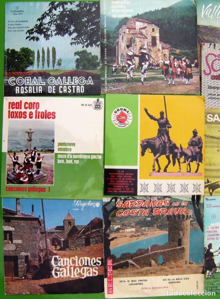 Discos de vinilo: Lote de 16 singles y EPs de música folk - Foto 2 - 195575450