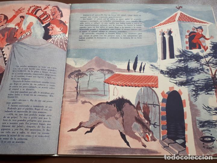 Discos de vinilo: Libro-disco Philips - El Sastrecillo valiente - 10 - 1958 - Foto 3 - 195581318