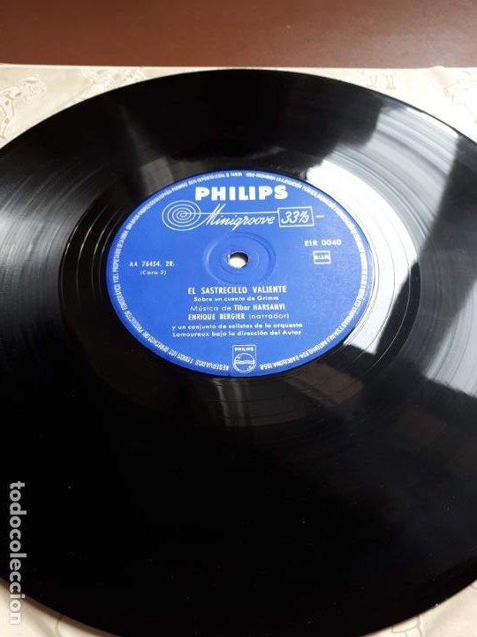 Discos de vinilo: Libro-disco Philips - El Sastrecillo valiente - 10 - 1958 - Foto 4 - 195581318