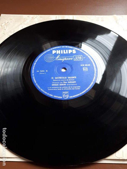 Discos de vinilo: Libro-disco Philips - El Sastrecillo valiente - 10 - 1958 - Foto 5 - 195581318