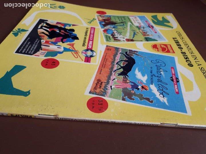 Discos de vinilo: Libro-disco Philips - El Sastrecillo valiente - 10 - 1958 - Foto 7 - 195581318