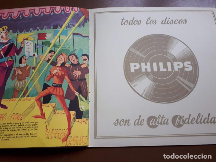 Discos de vinilo: Libro-disco Philips - El Sastrecillo valiente - 10 - 1958 - Foto 6 - 195581318