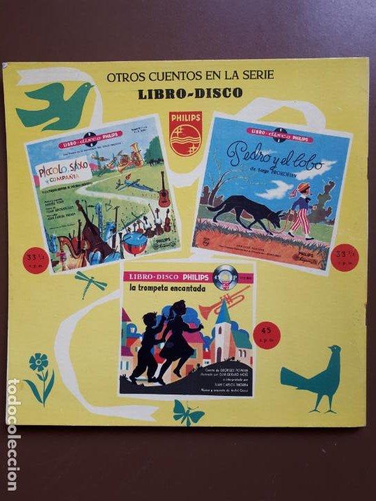 Discos de vinilo: Libro-disco Philips - El Sastrecillo valiente - 10 - 1958 - Foto 8 - 195581318