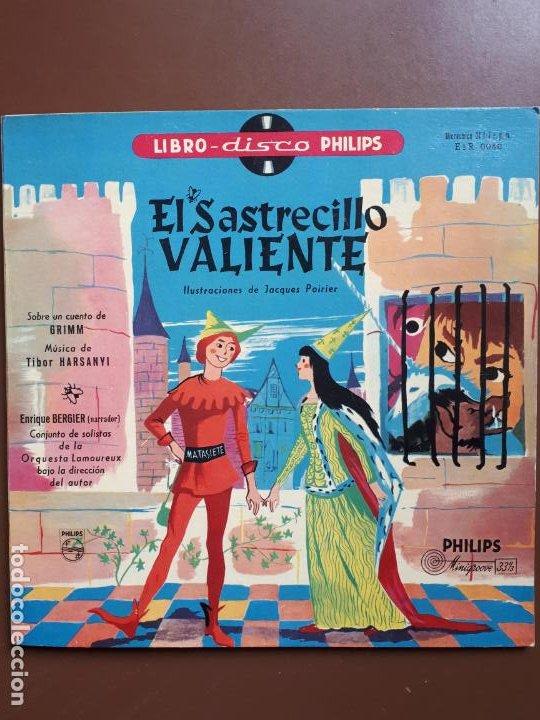 LIBRO-DISCO PHILIPS - EL SASTRECILLO VALIENTE - 10'' - 1958 (Música - Discos - LPs Vinilo - Música Infantil)