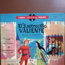 Discos de vinilo: LIBRO-DISCO PHILIPS - EL SASTRECILLO VALIENTE - 10'' - 1958. Lote 195581318