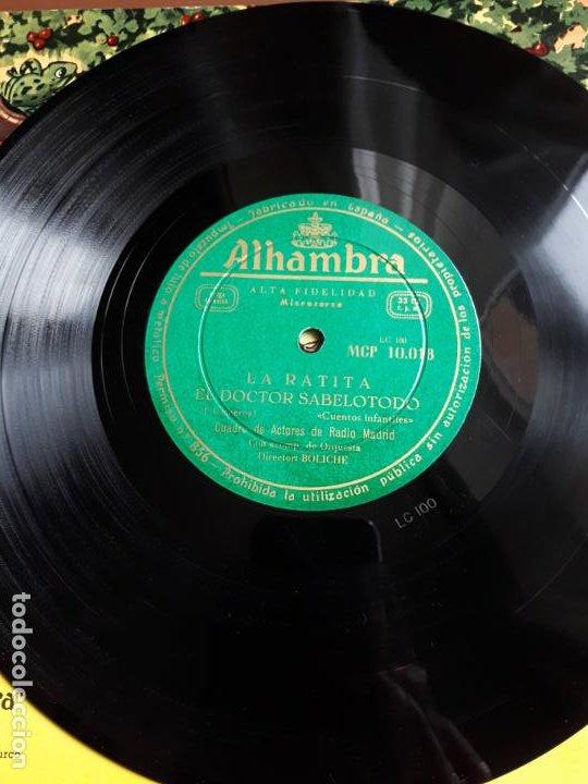 Discos de vinilo: Cuentos infantiles - 10 - Alhambra - Foto 4 - 195582107