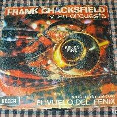 Discos de vinilo: FRANK CHACKSFIELD - SENZA FINE / MARRI9AGE LINES, DECCA ME 281, 1966.. Lote 195583168