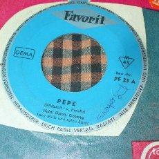 Discos de vinilo: HEIDI OSTEN / TIM OLAF – PEPE / TUM-BALALAIKA,FAVORIT (4) – PF 25, . Lote 195583677