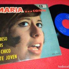 Disques de vinyle: MARIA UN BESO/ELLOS/OYE CHICO/GENTE JOVEN EP 1967 REGAL COMO NUEVO!. Lote 195589237