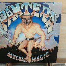Discos de vinilo: PANTERA - METAL MAGIC. LP VINILO NUEVO - HEAVY METAL. Lote 208477356