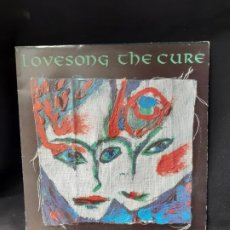 Discos de vinilo: THE CURE LOVENSONG . Lote 195625338